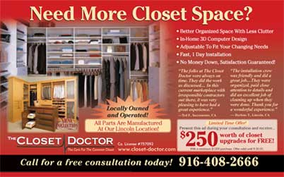 Closet Doctor Full Color, Half Page; Home Improvement U0026 Remodeling  Magazine. Www.closet Doctor.com